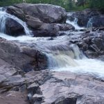 Falls on the threatened Yellow Dog River by Zac Luhellier
