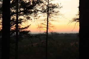 View from atop Eagle Rock by Chauncey Moran
