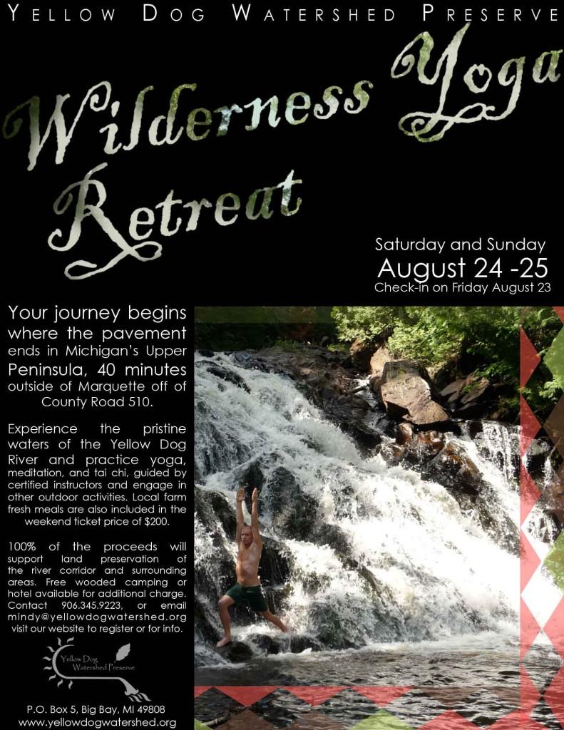 Wilderness Yoga Retreat
