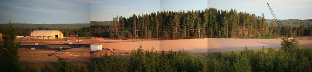 Lundin Eagle Mine on the Yellow Dog Plains