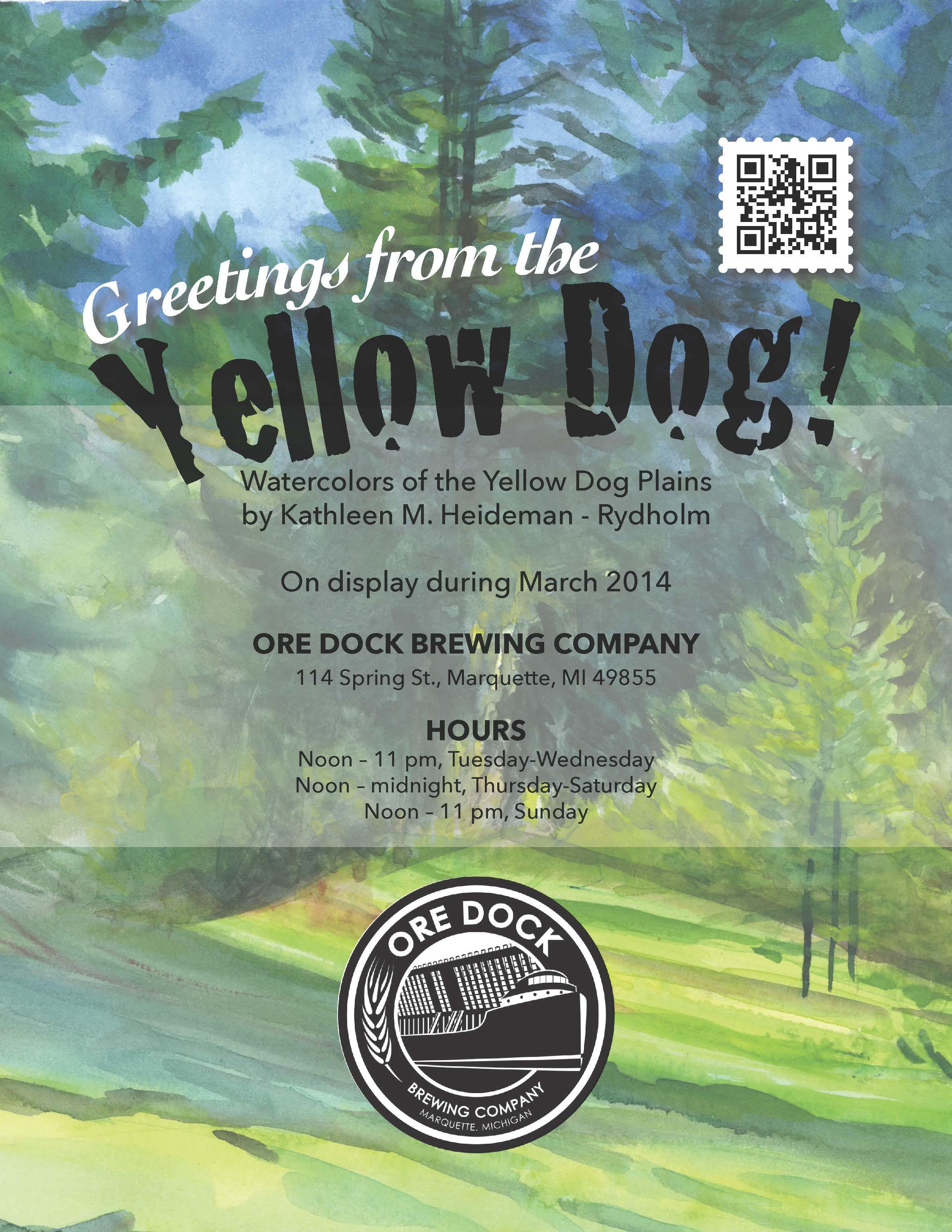 POSTER-yellowdog-OreDock-March