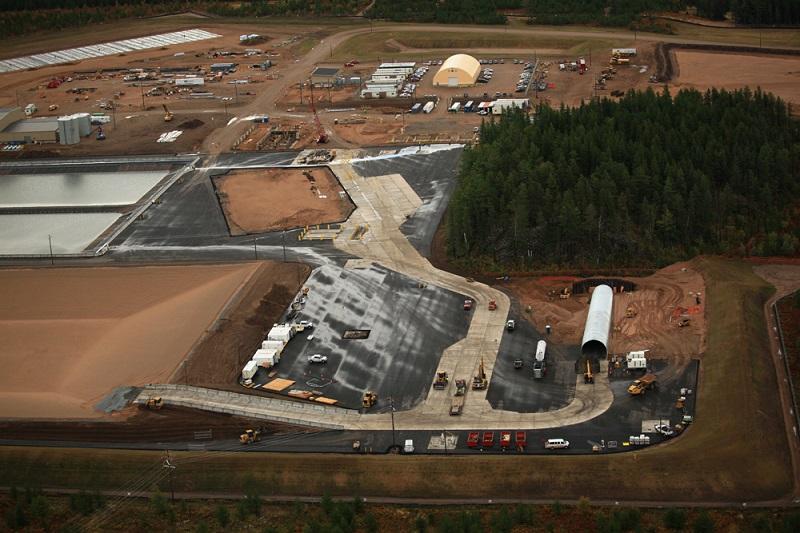 Eagle Mine Portal to Subsurface Facilities