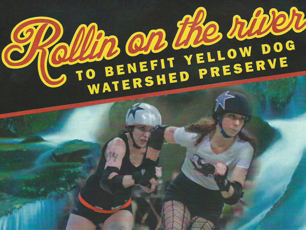 Dead River Derby Bout to Benefit Yellow Dog