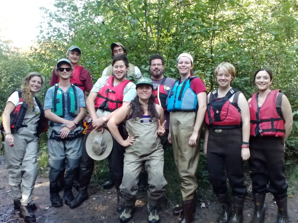 Fall 2014 volunteer stream monitoring program
