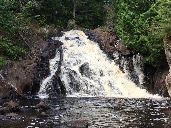 Chauncey Moran. pinnacle falls resized