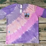 Purple/pink long-sleeve tie-dye